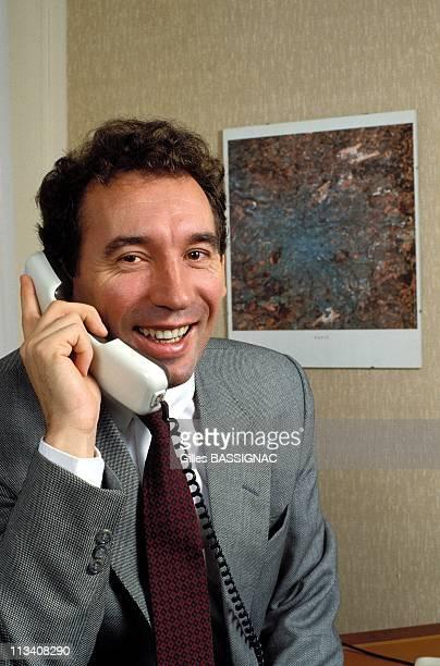 Francois Bayrou On October 11th 1989 In France