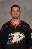Francois Beauchemin of the Anaheim Ducks poses for his official headshot for the 20142015 season on September 18 2014 at the Honda Center in Anaheim...