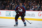 Francois Beauchemin of the Colorado Avalanche skates against the Vancouver Canucks at Pepsi Center on February 9 2016 in Denver Colorado The Canucks...