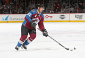 Francois Beauchemin of the Colorado Avalanche skates against the Vancouver Canucks at the Pepsi Center on February 9 2016 in Denver Colorado