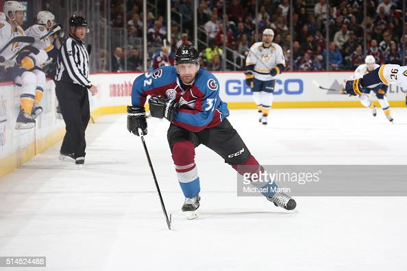 Francois Beauchemin of the Colorado Avalanche skates against the Nashville Predators at the Pepsi Center on March 05 2016 in Denver Colorado