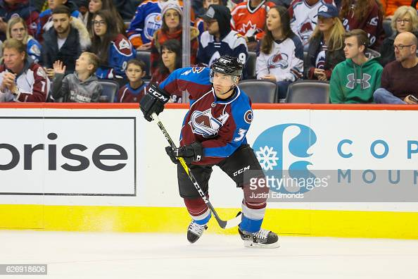 Francois Beauchemin of the Colorado Avalanche skates against the Edmonton Oilers at Pepsi Center on November 23 2016 in Denver Colorado The Oilers...