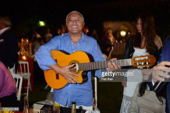 Francois Bennaceur attends the Massimo Gargia's Birthday Dinner at Moulins de Ramatuelle on August 21 2013 in Saint Tropez France