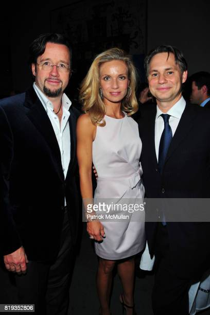 Francois Bennahmias Alice Bennahmias and Jason Binn attend JONATHAN TISCH 'Citizen You' Book Launch Party at The Museum of Modern Art on May 6 2010...