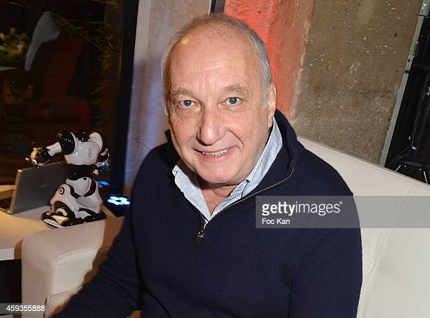 Francois Berleand attends the Acer Pop Up Store Launch Party at Les Halles on November 20 2014 in Paris France