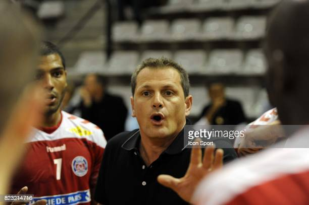 Francois BERTHIER Paris Handball / Ivry 3e journee Division 1