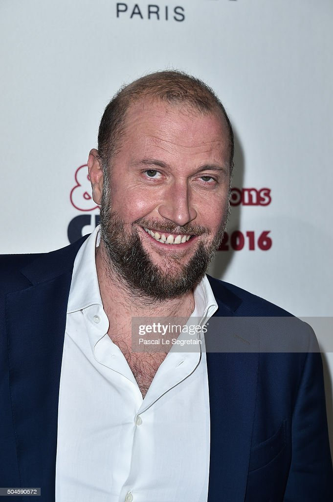 Francois Damiens attends the 'Cesar - Revelations 2016' Photocall And Cocktail Dinner on January 11, 2016 in Paris, France.