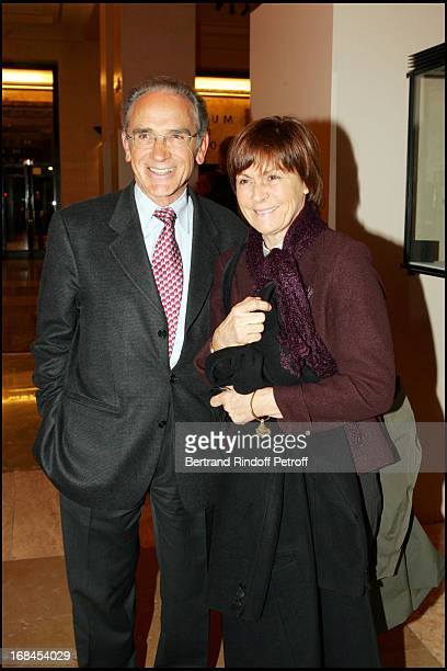 Francois De Closets and wife at 100th Episode Of 'Campus' Of Guillaume Durant At Le Cafe De L'Homme Restaurant At The Trocadero
