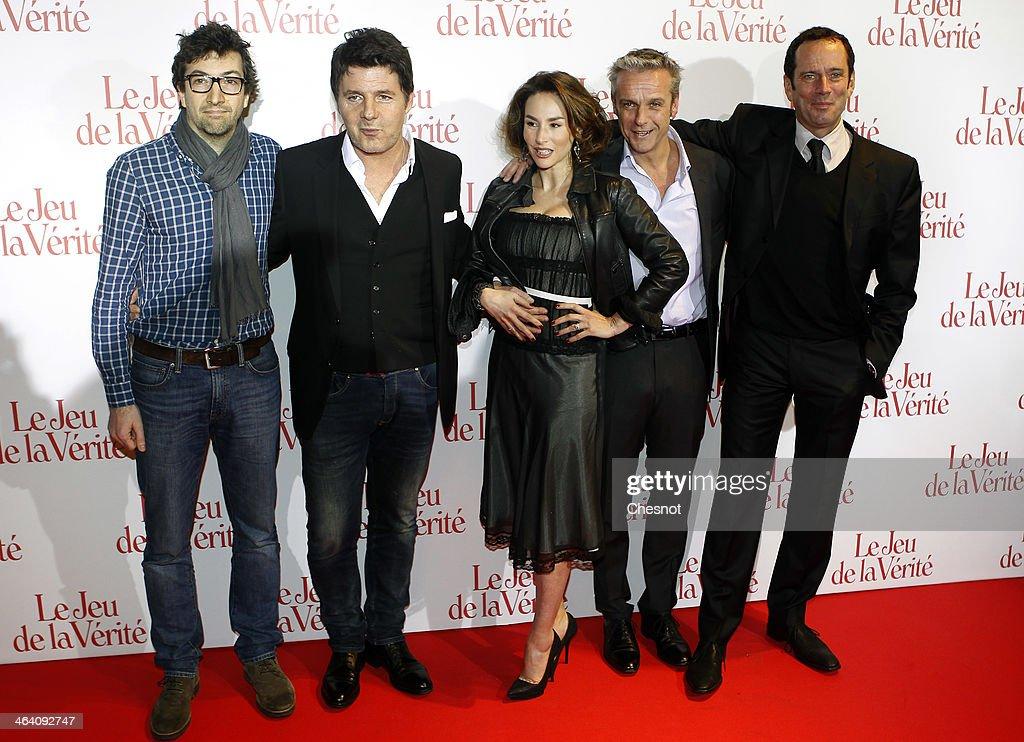 'Le Jeu De LA Verite' Paris Premiere At Gaumont Opera Capucines