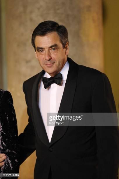 Francois FILLON Diner d'Etat en l'honneur de MICHEL SLEIMANE Elysee