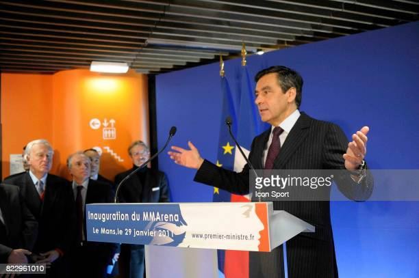 Francois FILLON Inauguration Stade MMARENA Le Mans