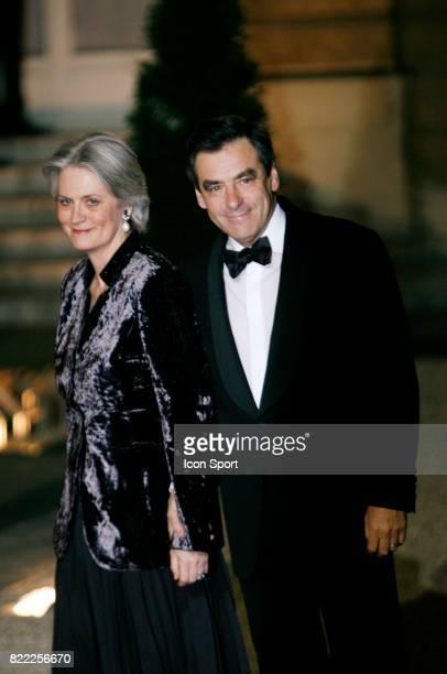 Francois FILLON et sa femme Diner d'Etat en l'honneur de MICHEL SLEIMANE Elysee