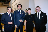 Francois Fillon Prince Salman Al Saoud guest and President of Centre Pompidou Alain Seban attend the 'Societe des Amis du Musee National d'Art...