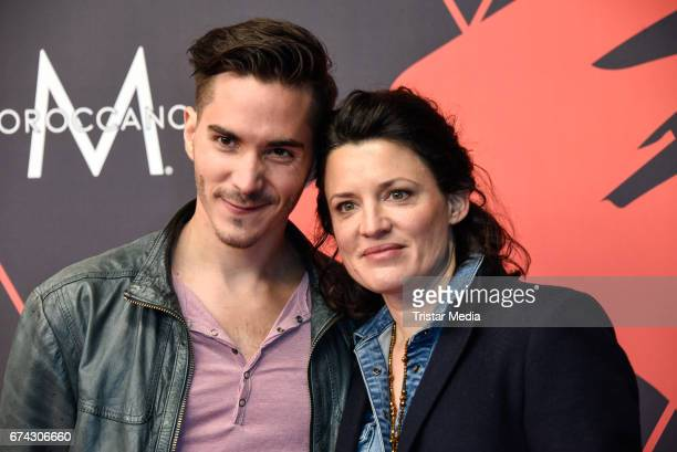 Francois Goeske and Judith Sehrbrock attend the New Faces Award Film at Haus Ungarn on April 27 2017 in Berlin Germany