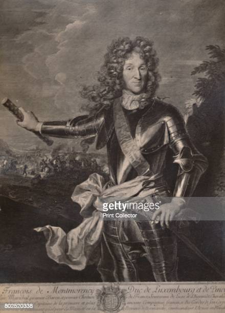 Francois Henri de MontmorencyBoutteville Duke of Luxembourg French general c17th century From A Collection of Engraved Portraits Exhibited by the...