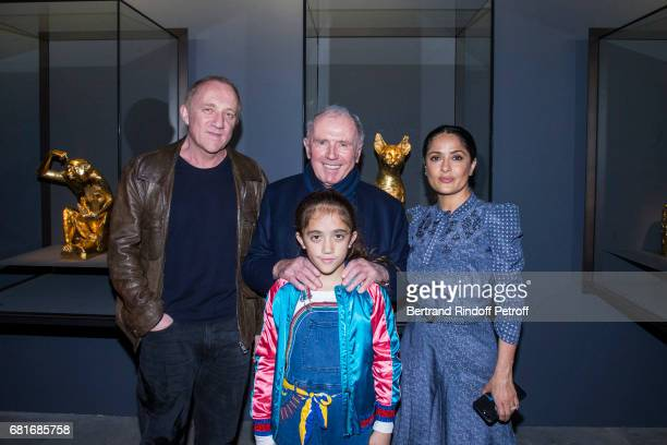 Francois Henri Pinault Francois Pinault Valentina Pinault and Salma Hayek attend Damien Hirst's exibition at Punta Della Dogana during the 57th...