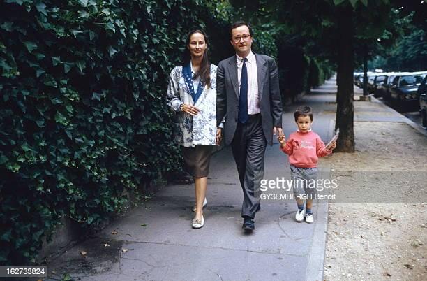 Francois Hollande And Segolene Royal Ségolène ROYAL députée socialiste des DeuxSévres avec son compagnon François HOLLANDE député socialiste de...