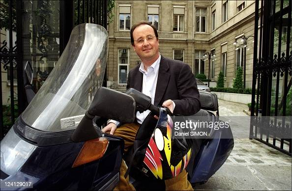 Francois Hollande at Socialist Party Headquarters In Paris France On May 23 1999