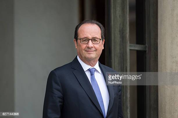 Francois Hollande in Paris France on December 2 2016 France's President Francois Hollande announced Thursday he will not seek a second term in office