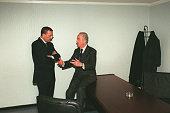 Francois Leotard and Edouard Balladur