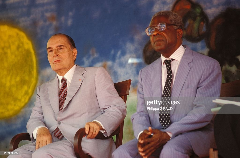 <a gi-track='captionPersonalityLinkClicked' href=/galleries/search?phrase=Francois+Mitterrand&family=editorial&specificpeople=208938 ng-click='$event.stopPropagation()'>Francois Mitterrand</a> on visit to West Indies, In France On December 04, 1985-French President <a gi-track='captionPersonalityLinkClicked' href=/galleries/search?phrase=Francois+Mitterrand&family=editorial&specificpeople=208938 ng-click='$event.stopPropagation()'>Francois Mitterrand</a> and <a gi-track='captionPersonalityLinkClicked' href=/galleries/search?phrase=Aime+Cesaire&family=editorial&specificpeople=2045412 ng-click='$event.stopPropagation()'>Aime Cesaire</a>, mayor of Fort de France.