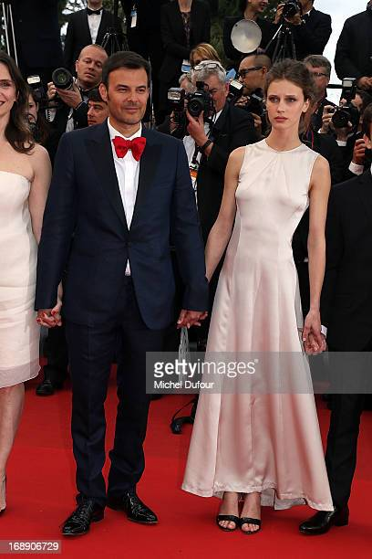 Francois Ozon and Marine Vacht attend the 'Jeune Jolie' premiere during The 66th Annual Cannes Film Festival at the Palais des Festivals on May 16...