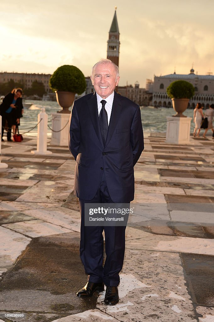 Francois Pinault attends the Dinner At 'Fondazione Cini, Isola Di San Giorgio' during the 2013 Venice Biennale on May 29, 2013 in Venice, Italy.