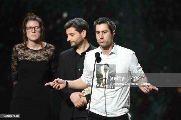 Francois Ruffin during the Cesar Film Awards 2017 ceremony at Salle Pleyel on February 24 2017 in Paris France