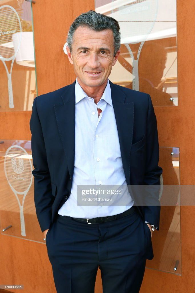 Francois Sarkozy attends Roland Garros Tennis French Open 2013 - Day 12 on June 6, 2013 in Paris, France.