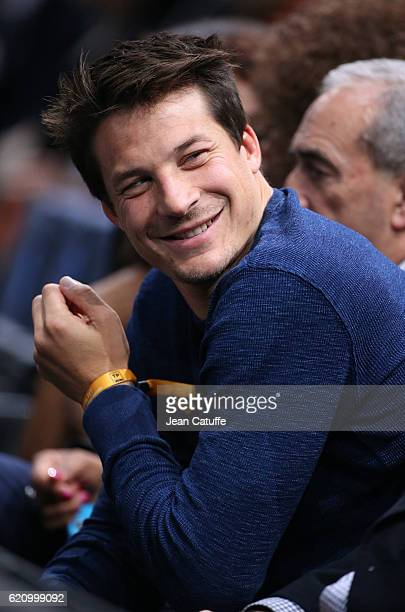 Francois TrinhDuc attends day 3 of the BNP Paribas Masters 1000 of Paris at AccorHotels Arena aka Palais Omnisports de Paris Bercy on November 2 2016...