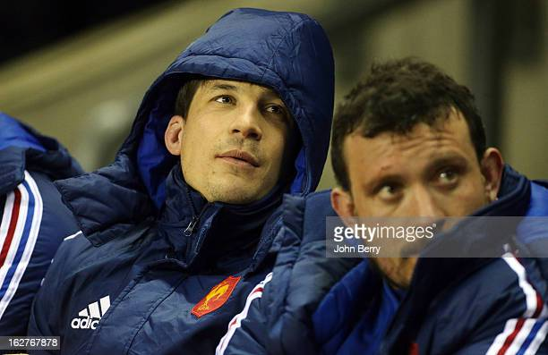 Francois TrinhDuc of France looks on during the RBS Six Nations match between England and France at Twickenham Stadium on February 23 2013 in London...