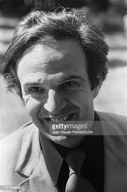 Francois Truffaut at Film Festival in CannesFrance on May 14th1973