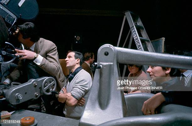Francois Truffaut During The Shooting Of 'Fahrenheit 451'