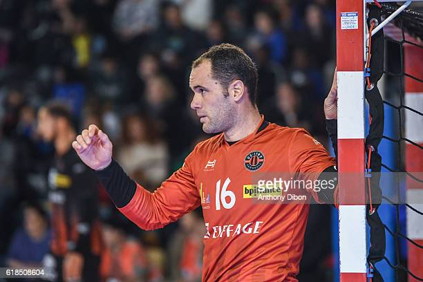 Francois Xavier Chapon of Ivry during the Lidl Star Ligue match between Ivry and Saint Raphael on October 26 2016 in IvrysurSeine France