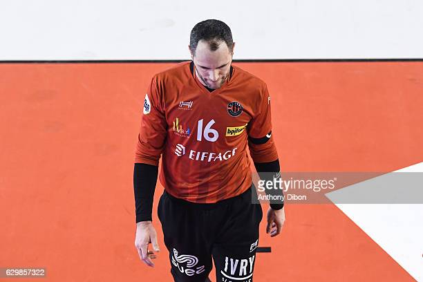 Francois Xavier Chapon of Ivry during the Lidl Star Ligue match between Ivry and Selestat on December 14 2016 in IvrysurSeine France