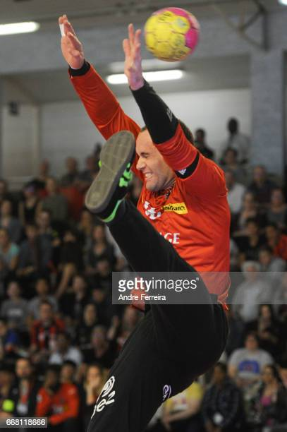 Francois Xavier Chapon of Ivry during the Starligue Lidl match between Ivry and Nantes on April 12 2017 in IvrysurSeine France