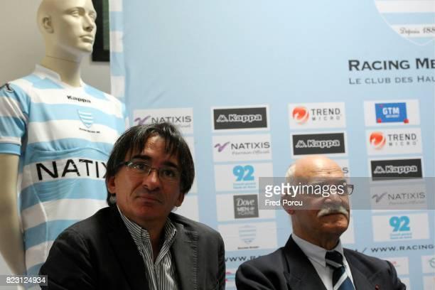 Francois Xavier CHUPIN / Michel CRAUSTE Conference de Presse Annonce Saison 2011/2012 Croix de Berny