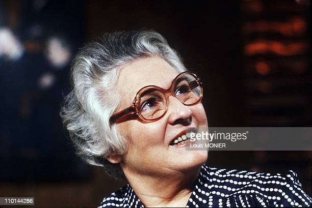 Francoise Dolto in France on September 24 1981