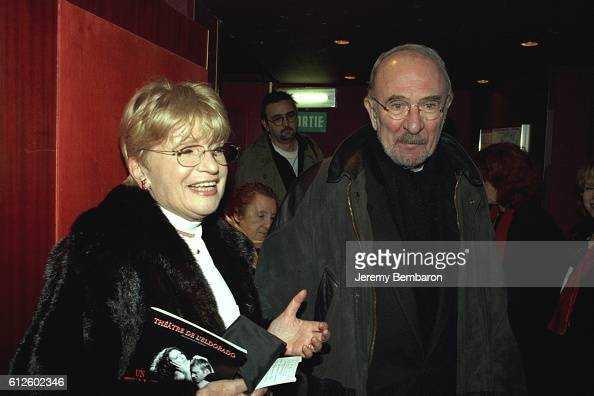 Francoise Dorin and Jean Pierre Marielle at the Eldorado Theater