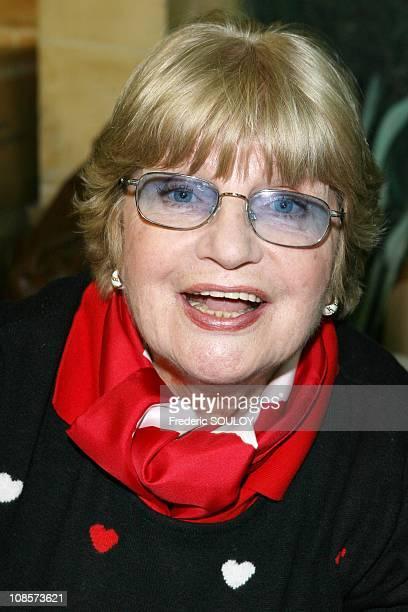 Francoise Dorin in Paris France on December 01 2008