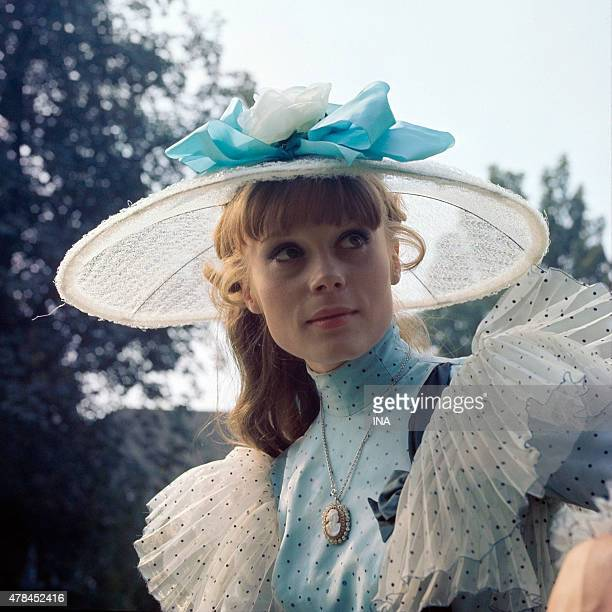 Francoise Dorleac in costume nice time for the program ''Party party''