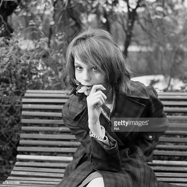 Francoise Dorleac in the ''program'' '''' ''Cinepanorama'' ''''