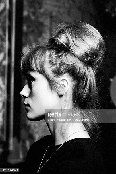 Francoise Dorleac On The Shooting Of 'Cyrano Contre D'Artagnan' Made By Abel Gance In 1963