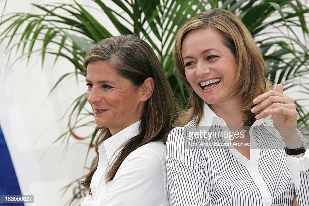 Francoise Joly and Guilaine Chenu during 2007 Monte Carlo TV Festival Envoye Speciale Photocall at Grimaldi Forum in Monte Carlo Monaco