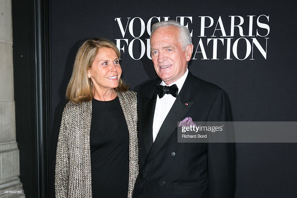 Francoise Labro and Philippe Labro attend the Vogue Foundation Gala as part of Paris Fashion Week at Palais Galliera on July 9, 2014 in Paris, France.