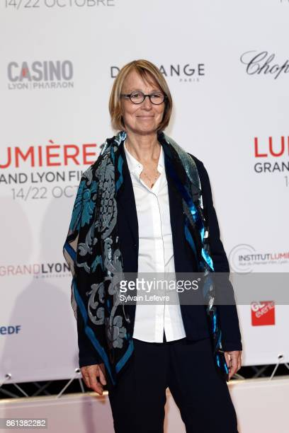 Francoise Nyssen attends opening ceremony of 9th Film Festival Lumiere In Lyon on October 14 2017 in Lyon France
