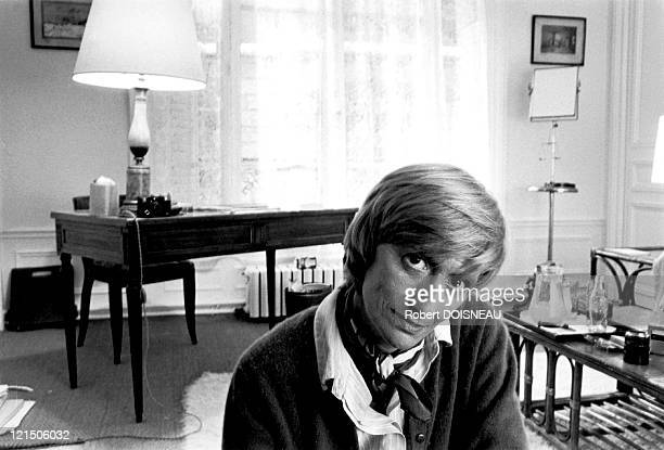 Francoise Sagan At Home