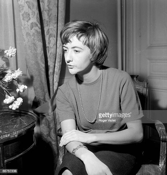 Francoise Sagan French woman of letters about 1965