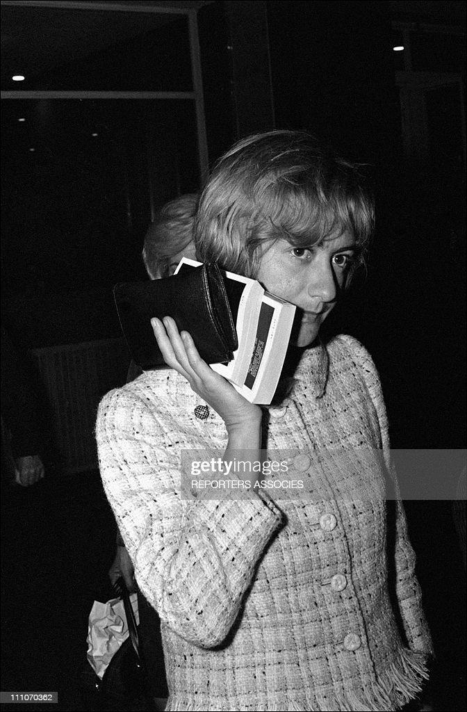 Francoise Sagan in France on September 24 1965