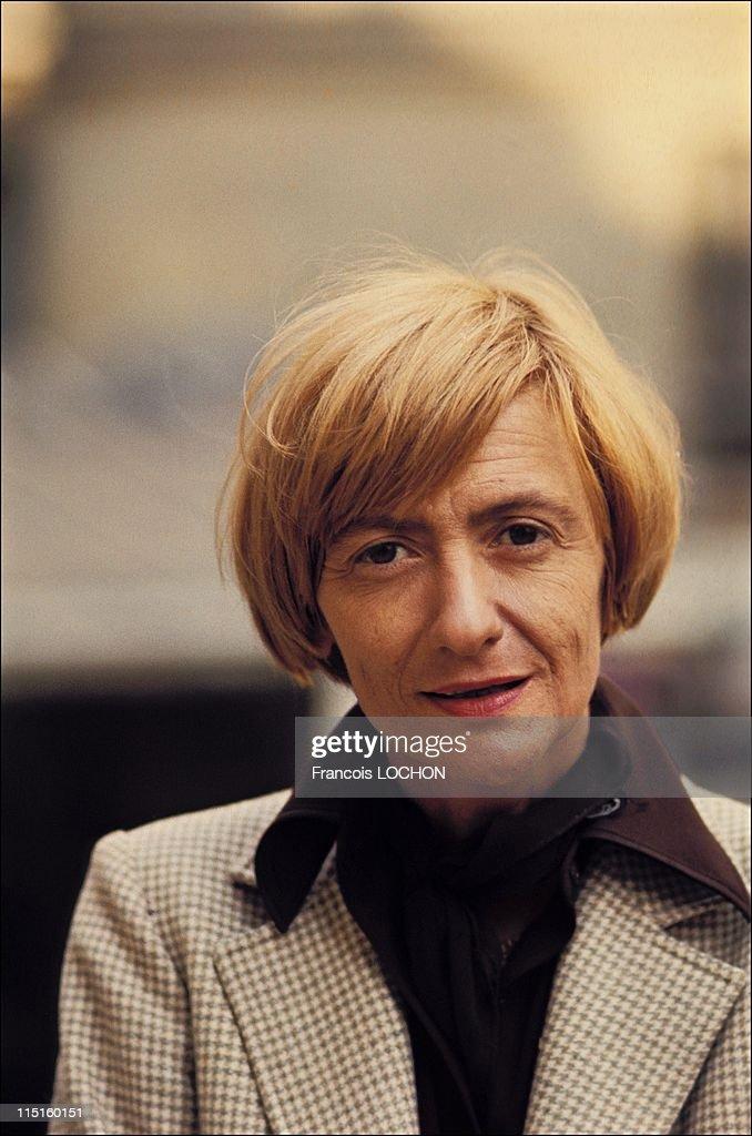 Francoise Sagan portrait in France in June 1976